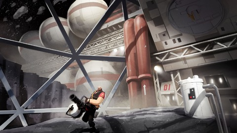 Team Fortress 2 - Nouvel épisode du comic et direction lune pour Team Fortress 2