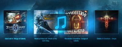 Musiques des jeux Blizzard