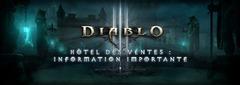 L'hôtel des ventes de Diablo 3 ferme ses portes