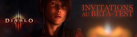 Invitation au bêta-test de Diablo III