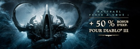 Diablo III - Expérience 50%