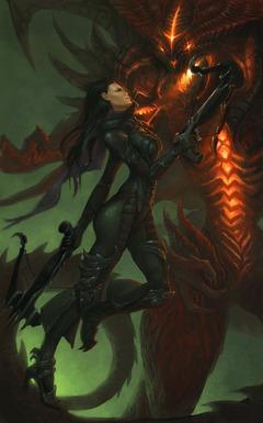 L'envol d'une chasseuse de démon