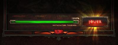 Barre d'installation Diablo III