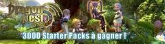 3000 « Starter Packs » pour bien débuter dans Dragon Nest Europe