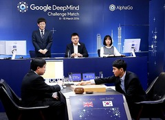 Lee Sedol l'emporte (enfin) face à l'intelligence artificielle AlphaGo