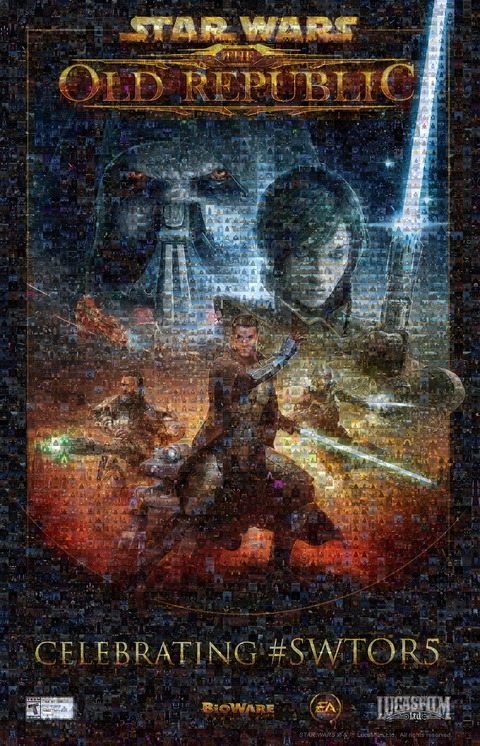 Star Wars The Old Republic - Star Wars The Old Republic fête son cinquième anniversaire