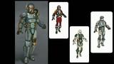 Variantes d'armures