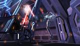 Un sith détruit un droïd