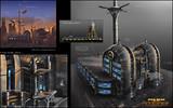Art conceptuel Coruscant 1