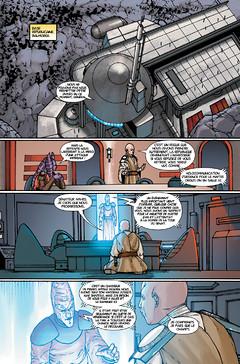 Webcomic : La menace de la Paix - Acte II - Issue 9
