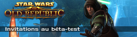 Jeux-Concours : Invitation au bêta-test de Star Wars The Old Republic