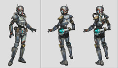 concept art bounty hunter 2