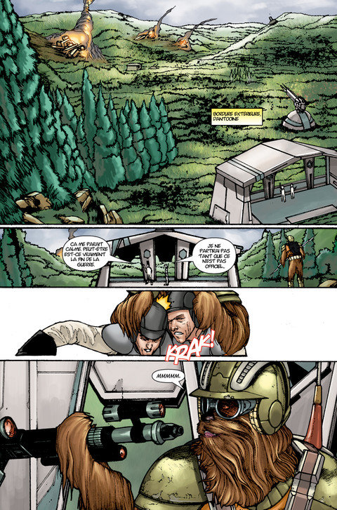 Star Wars The Old Republic - Webcomic : La menace de la paix - Pages 13 à 15