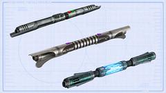 Doubles sabres laser Jedi