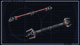 Double Sabres laser Inquisiteur Sith