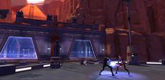 Un duel au sabre laser