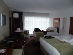 La super chambre d'hôtel