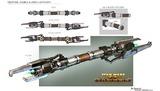 Concept de double sabre laser pour la mise à jour 2.4