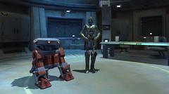 Des droides