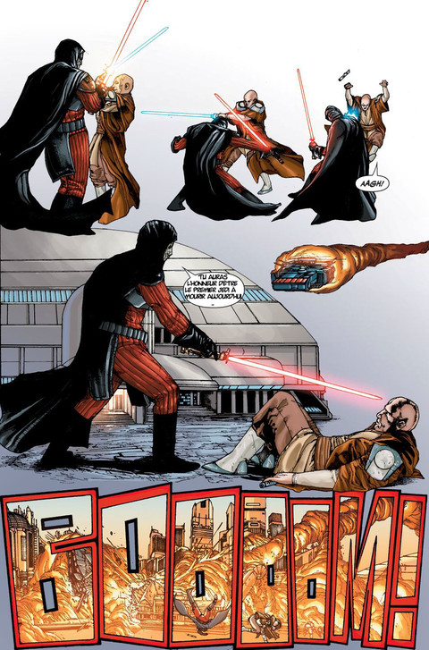 Star Wars The Old Republic - Webcomic : La menace de la paix - Pages 7 à 9 & nouvelle vidéo