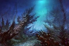 Océan pollué