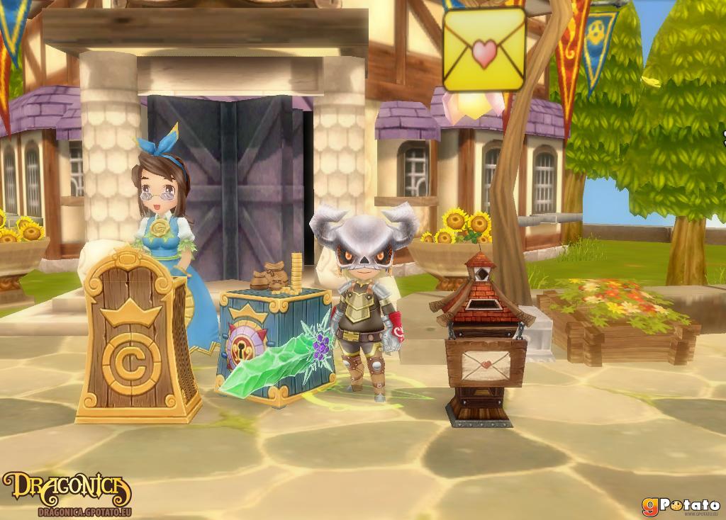 le jeux dragonica