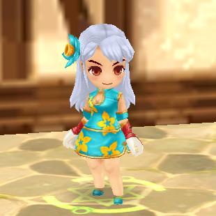La robe Bora-bora (Femme) 4 pièces