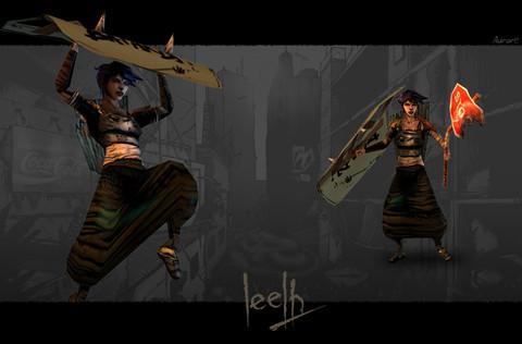 Leelh - Leelh, l'aube de l'alpha