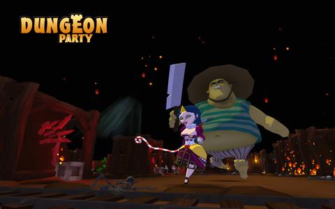 Dungeon Party - Nouveaux personnages, nouvel environnement et éditeur de donjons
