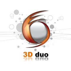Logo du studio 3Dduo