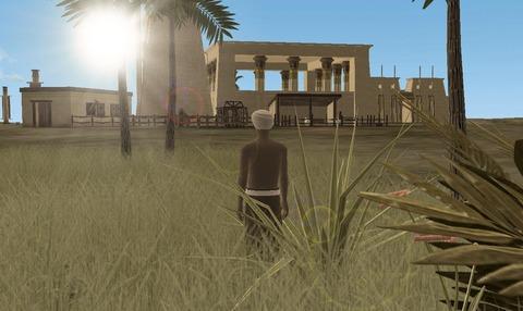 A Tale in the Desert - A Tale in the Desert se trouve un nouveau pharaon