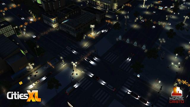 Pack Noël 2009 dans Cities XL
