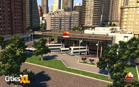 Cities XL - Premières infos sur les bus