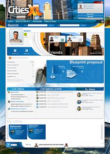 Une Interface Web pour Cities XL
