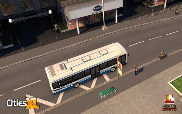 Premières images des bus dans Cities XL
