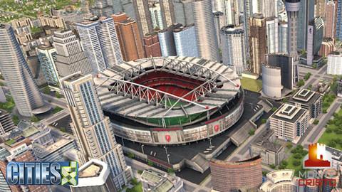 Cities XL - Choisissez quels stades apparaîtront en jeu !