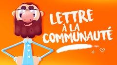 KROSMOZ - Lettre à la communauté