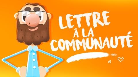Dofus - KROSMOZ - Lettre à la communauté