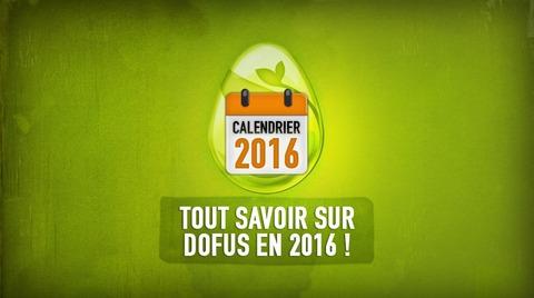 Calendrier DOFUS 2016