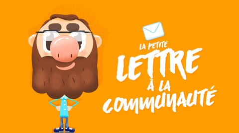 La petite lettre à la communauté