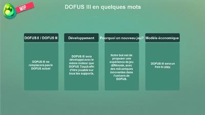 Dofus 3 : retour de la conférence d'Ankama sur son nouveau MMORPG