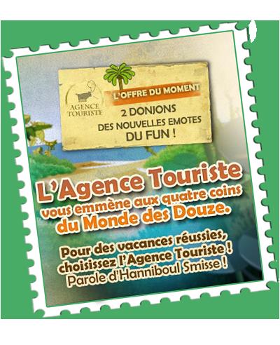 L'agence touriste vous invite en vacances