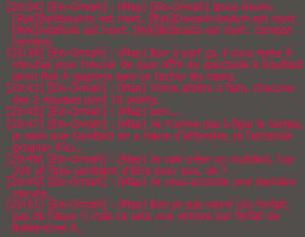 Goultarminator III : Compte rendu du jour 10