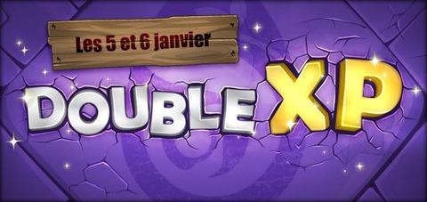 Week-end double XP pour fêter la bonne année