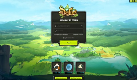 Dofus - 2.36 : Refonte des interfaces