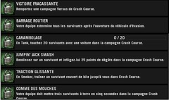 Mise à jour du 29/09/09 : CRASH COURSE
