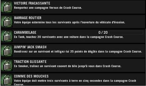 Left 4 Dead - Mise à jour du 29/09/09 : CRASH COURSE