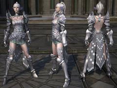 Armure de plates Haut-Elfe