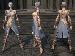Armure de cuir Haut-Elfe