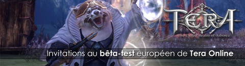Invitations au troisième week-end de bêta-test de TERA Europe - MàJ